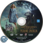 Miss Peregrine's Home For Peculiar Children (2016) R4 DVD Label