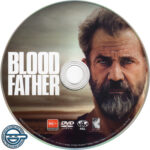 Blood Father (2016) R4 DVD Label