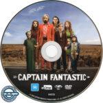 Captain Fantastic (2016) R4 DVD Label