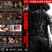 Rambo Collector's Pack (1982-2008) R1 Custom Blu-Ray Cover V2