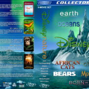 DisneyNature Collection (9) (2007-2017) R1 Custom Blu-Ray Cover