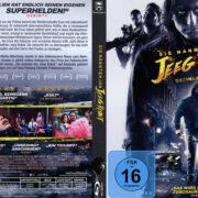 Sie nannten ihn Jeeg Robot (2015) R2 German Custom Blu-Ray Cover & Labels