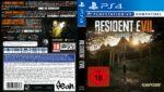 Resident Evil 7 (2017) German Custom PS4 Cover