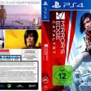 Mirror's Edge Catalyst (2016) German PS4 Cover