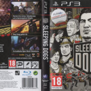 Sleeping Dogs (2012) PS3 German Cover