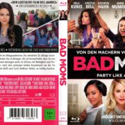 Bad Moms (2016) R2 German Blu-Ray Cover