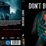Don't Breathe (2016) R2 German Custom Blu-Ray Covers