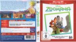 Zoomania 3D (2016) R2 German Blu-Ray Cover