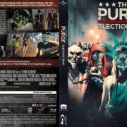 The Purge 3 - Election Year (2016) R2 German Custom Blu-Ray Cover & label