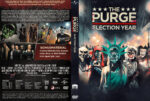 The Purge 3 – Election Year (2016) R2 German Custom Cover & Label