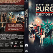 The Purge 3 - Election Year (2016) R2 German Custom Cover & Label