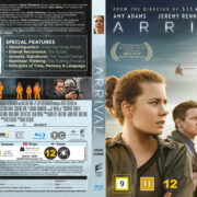 Arrival (2016) R2 Blu-Ray Nordic Cover