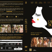 Café Society (2016) R2 DVD Nordic Custom Cover