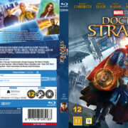 Doctor Strange (2016) R2 Blu-Ray Nordic Custom Cover