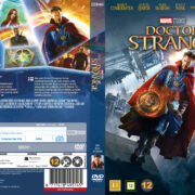 Doctor Strange (2016) R2 DVD Nordic Custom Cover