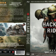 Hacksaw Ridge (2016) R2 Blu-Ray Swedish Custom Cover