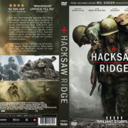 Hacksaw Ridge (2016) R2 DVD Swedish Custom Cover