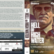 Hell or High Water (2016) R2 Blu-Ray Nordic Custom Cover