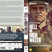 Hell or High Water (2016) R2 DVD Nordic Custom Cover
