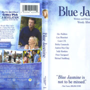 Blue Jasmine (2013) R1 Blu-Ray Cover & Label