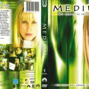 Medium Staffel 1 (2005) R2 German Custom Cover & Labels