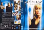 Medium Staffel 2 (2005) R2 German Custom Cover & Labels