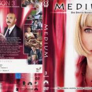 Medium Staffel 3 (2006) R2 German Custom Cover & Labels