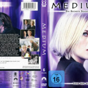 Medium Staffel 6 (2009) R2 German Custom Cover & Labels