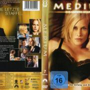 Medium Staffel 7 (2010) R2 German Custom Cover & Labels