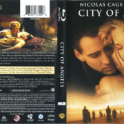 City Of Angels (1998) R1 Blu-Ray Cover & Label