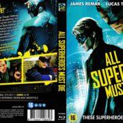 All Superheroes Must Die (2011) R2 Blu-Ray Dutch Cover