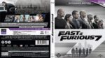 Furious 7 (2015) R2 Blu-Ray Dutch Cover