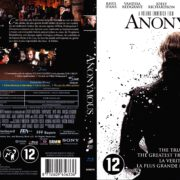 Anonymous (2011) R2 Blu-Ray Dutch Cover
