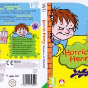 Horrid Henry Missions of Mischief (2009) PAL Wii Cover