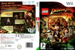 LEGO Indiana Jones The Original Adventures (2008) PAL Wii Cover