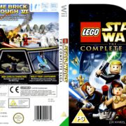 Lego Star Wars The Complete Saga (2007) PAL Wii Cover
