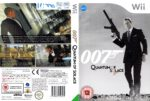 Quantum Of Solace (2008) PAL Wii Cover