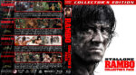 Rambo Collector's Pack (1982-2008) R1 Custom Blu-Ray Cover V3