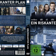 Ein riskanter Plan (2012) R2 German Custom Cover & Labels