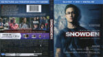 Snowden (2016) R1 Blu-Ray Cover & Labels