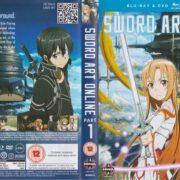 Sword Art Online: Part 1 (2014) R2 Blu-Ray Cover