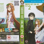 Sword Art Online: Part 2 (2014) R2 Blu-Ray Cover