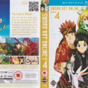 Sword Art Online: Part 4 (2014) R2 Blu-Ray Cover