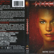 Species II (1998) R1 Blu-Ray Covers & Label