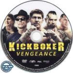 Kickboxer: Vengeance (2016) R4 DVD Label