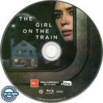 The Girl On The Train (2016) R4 Blu-Ray Label