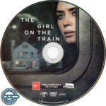 The Girl On The Train (2016) R4 DVD Label