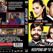 Keeping Up with the Joneses (2016) R2 Custom Swedish Cover