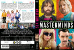 Masterminds (2016) R2 Custom Swedish Cover