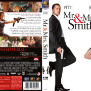 Mr. & Mrs. Smith (2005) R2 DVD Swedish Cover
